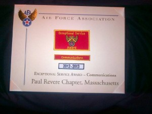 Exceptional Service Award Communications